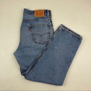Vintage Levi's 550 High Waist wedgie fit Jeans